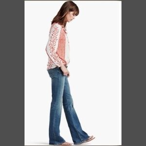 Lucky Brand Mid Rise Flare Jeans in Size 10 / 30